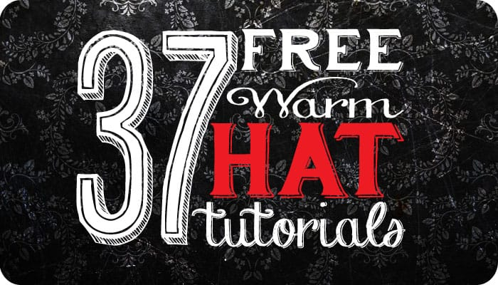 37 Warm Hat tutorials