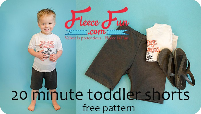 Toddler Shorts Free Pattern and Tutorial