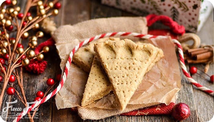 Spiced Shortbread Cookies Recipe